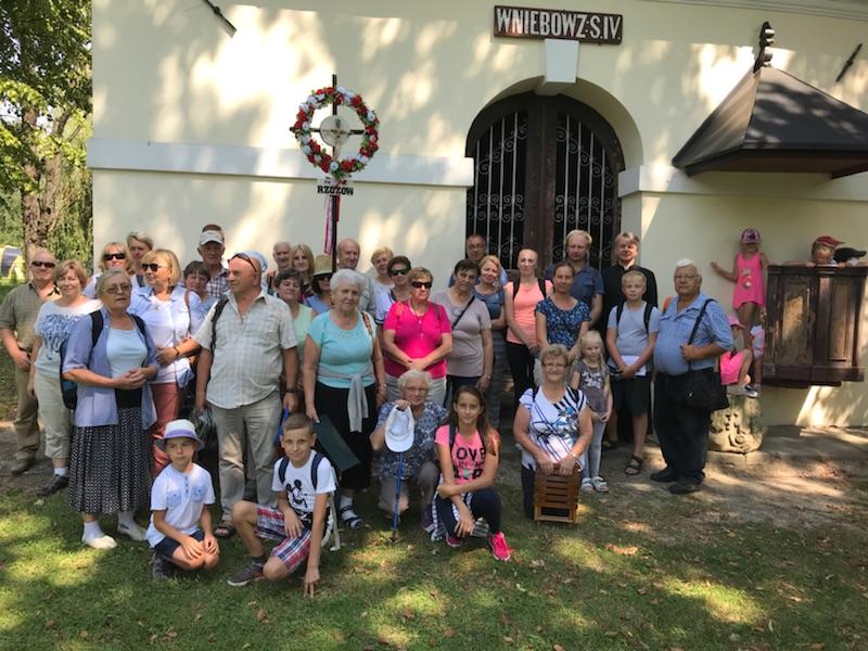 Parafia zozów na dróżkach kalwaryjskich sierpień 2018